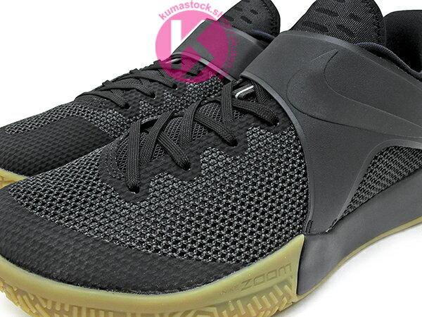 2017 平價籃球鞋 超高C/P值 NIKE ZOOM LIVE EP 全黑 膠底 黏扣帶 HYPERFUSE 鞋面科技 前掌 ZOOM AIR 氣墊 輕量 透氣 NBA 球星代言 (852420-011) 0117 2