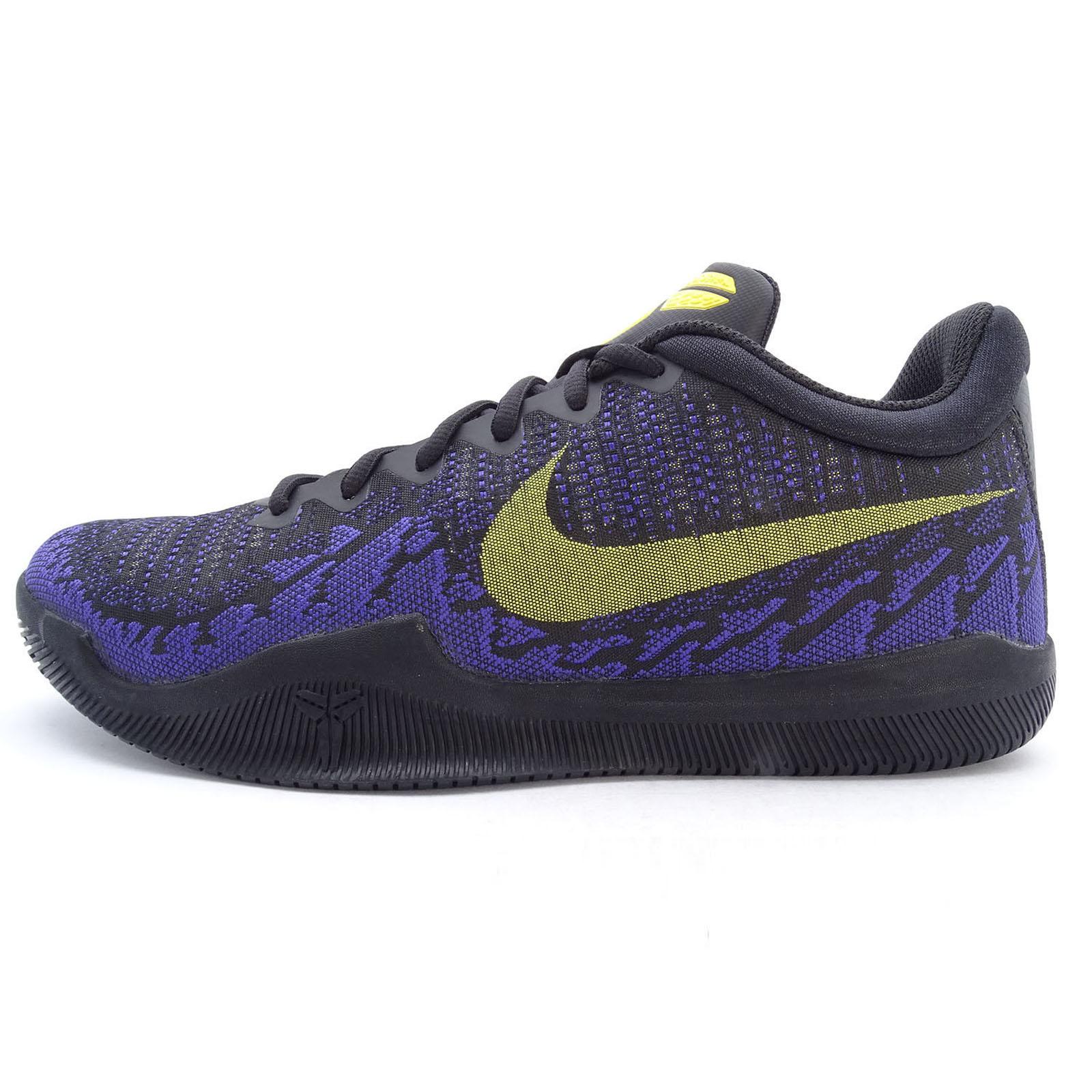 《限時特價↘7折免運》Nike Mamba Rage EP 男鞋 籃球 KOBE 曼巴 氣墊 黑 紫 黃 【運動世界】 908974-024