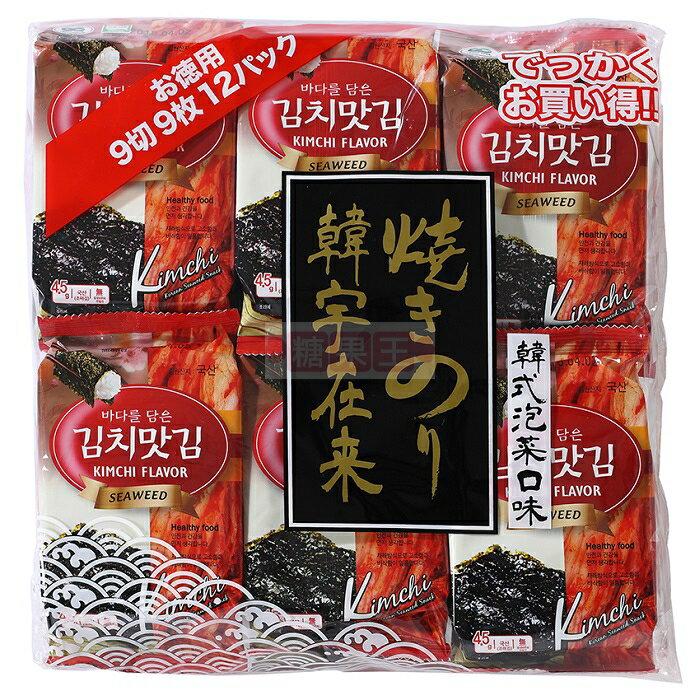 韓國海苔 (泡菜口味) 12入裝
