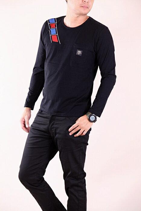 CS衣舖 彈力伸縮 高質感 長袖T恤 3333 1