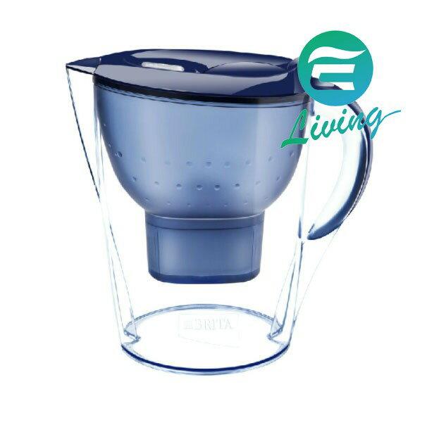 德國BRITA Marella XL濾水壺3.5L+濾心1入 藍色【超商取貨限購一組,無法與其他商品合訂】
