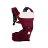 【Fisher-Price費雪】ARETE艾瑞特腰凳式揹巾(背巾)-酒紅色 1