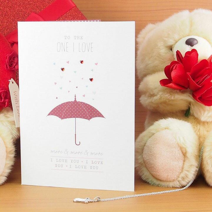 剪刀石頭紙 全心全意愛你 與你共撐一把傘? 【UK情人卡】