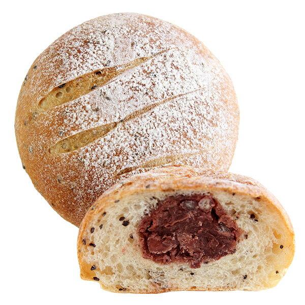 [蕃薯藤]有機紅豆牛奶芝麻麵包
