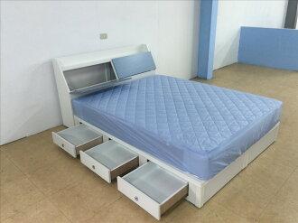 【石川家居】GH-282 藍色系列5尺床頭+收納床底 粉 藍 可選 (不含床墊跟其他商品) 需搭配車趟費