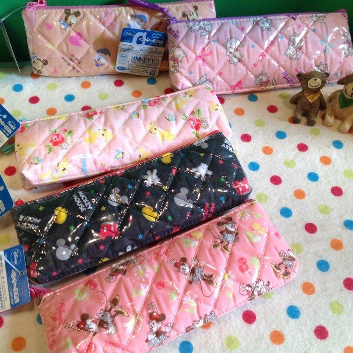 =優生活=【獨家限量】日本正版進口迪士尼米奇米妮唐老鴨邦妮兔瑪麗貓長形筆袋 化妝包 收納包 筆盒