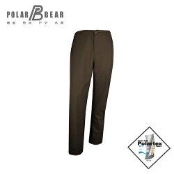 【POLAR BEAR】男POLARTEX SOFT SHELL防風直筒長褲