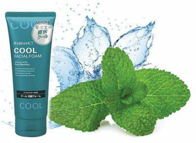 日本 熊野油脂 kumano Pharmaact cool涼感保濕洗面乳130g
