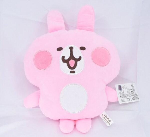 X射線【C574777】卡娜赫拉Kanahei12吋扁型抱枕,絨毛填充玩偶玩具公仔抱枕靠枕娃娃