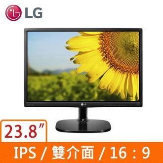 LG 24MP48HQ 23.8吋 IPS 16:9 液晶顯示器 低藍光不閃爍
