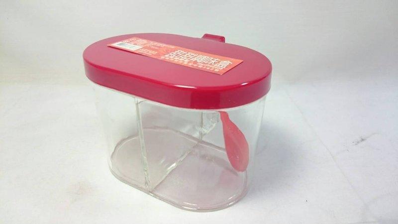 【八八八】e網購~【甜甜調味盒】861337 調味罐 調味盒 鹽巴盒 糖罐 味素盒