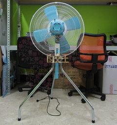 【尋寶趣】金展輝 24吋 250W 鐵製扇葉 工業扇 涼風扇 電扇 電風扇 工業立扇 台灣製 A-2411-606