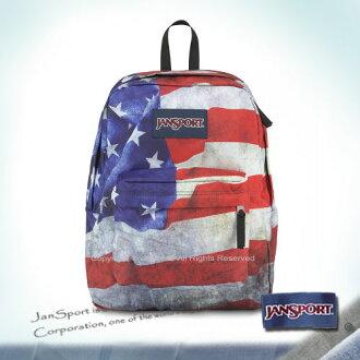 【騷包館】JANSPORT美國專櫃品牌 特殊帆布後背包 美國隊長JS-43117J0GM