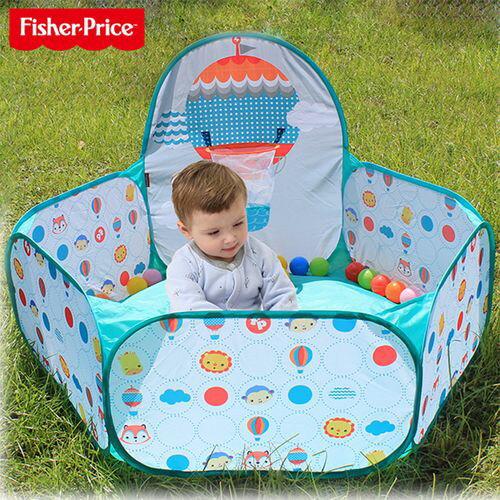 FisherPrice費雪球池圍欄(內附25顆海洋球)★衛立兒生活館★