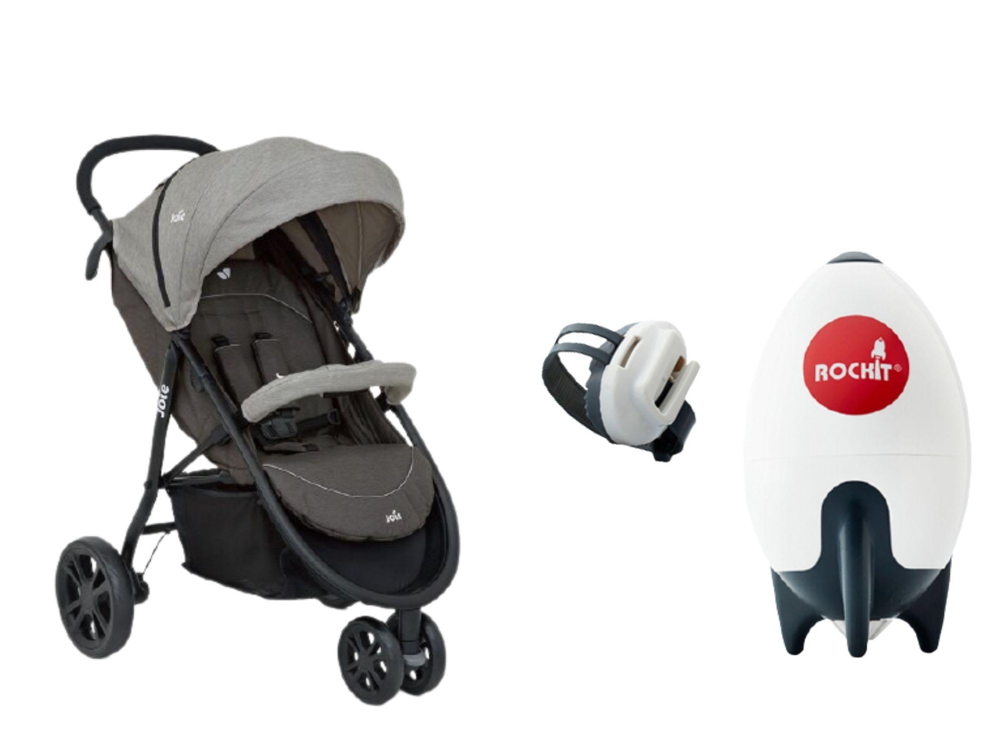 英國 Joie Litetrax 豪華休旅推車/嬰兒推車(限時優惠加購英國 ROCKIT 攜帶式嬰兒推車搖搖安撫火箭)