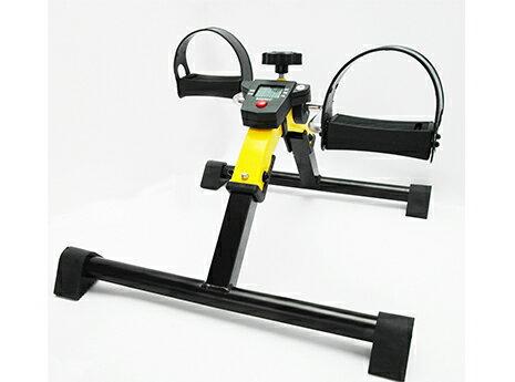 運動復健腳踏器/ 單車腳踏器/ 室內腳踏車-附多功能顯示器(可折疊)
