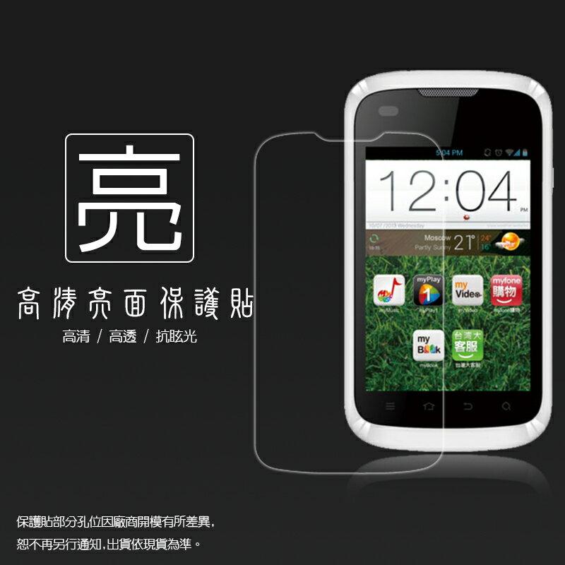 亮面螢幕保護貼 台灣大哥大 TWM Amazing A3 保護貼