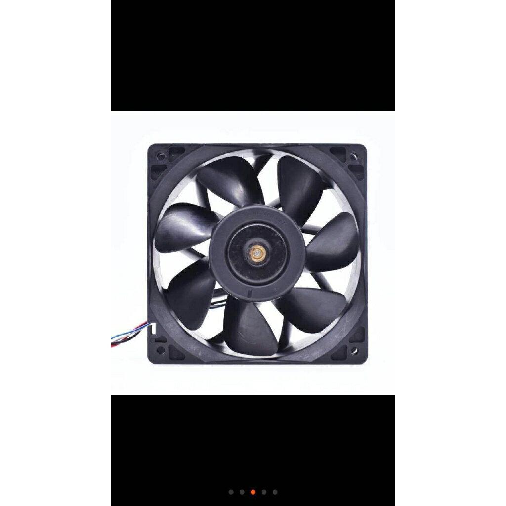 熱銷新品 12V直流 2.7A 12038 螞蟻S7 S9前後通用工業散熱風扇QFR1212GHE 代替臺達