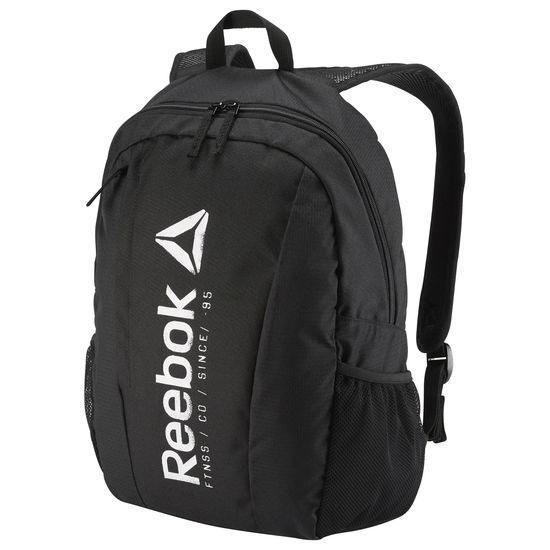 REEBOK FOUNDATION BACKPACK 背包 後背包 雙肩 大容量 筆電 黑