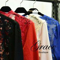 Grace Boutique OLVI`S080 喀什米爾蕾絲外套