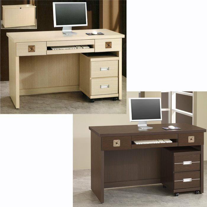 尚品家具】736-19 安東尼 白橡/胡桃 4.2尺書桌(不含活動櫃) ~另有3.5尺書桌/電腦桌/辦公桌