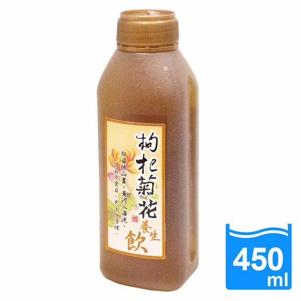 康健生機 枸杞菊花養生飲 450mlx6瓶