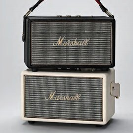 <br/><br/>  志達電子 Kilburn 英國搖滾經典 MARSHALL 攜帶式藍芽喇叭 支援AUX 輸入<br/><br/>