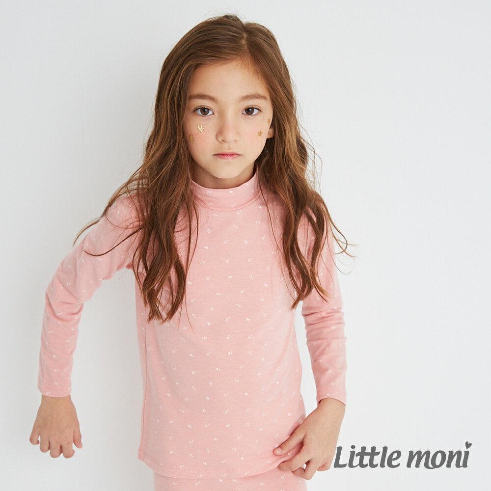 Little moni 發熱紗高領上衣-粉紅(好窩生活節) 1