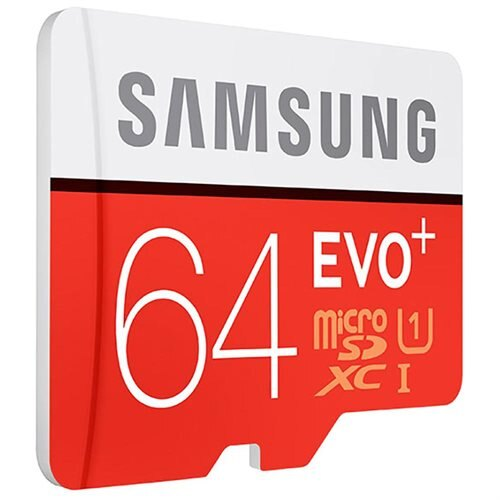 Samsung EVO+ 64GB microSDXC Class 10 64G EVO Plus microSD micro SD SDXC 80MB/s UHS-I U1 C10 MB-MC64DA with Original SD Adapter 1