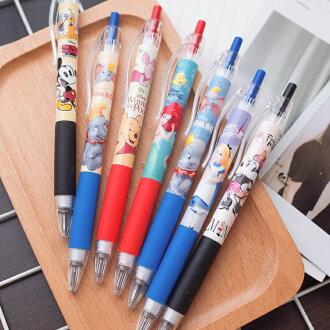 PGS7 迪士尼系列商品 - 米妮 維尼 愛麗絲 小美人魚 小飛象 軟膠 原子筆 (0.5mm)【SHZ71606】