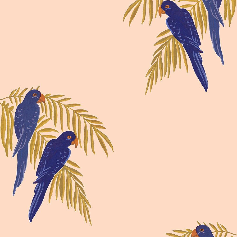 法國壁紙  鳥紋 鸚鵡紋 Season Paper Parrots PP-S1801 壁紙 0