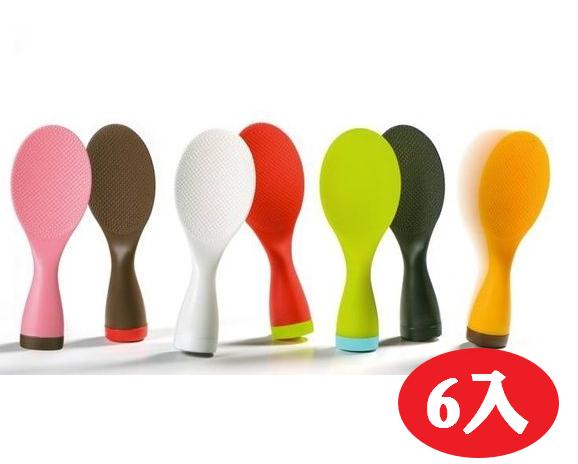 【晨光】日本製AKEBONO 繽紛不倒翁飯匙 -6入(059102) 【現貨】