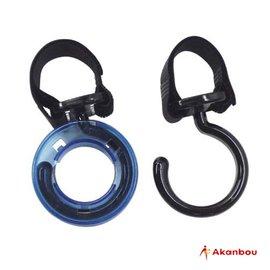 【淘氣寶寶】日本製Akanbou多用途掛勾附雨傘扣環【若加上雨傘釦環,即可變身為雨傘或陽傘的置物架】