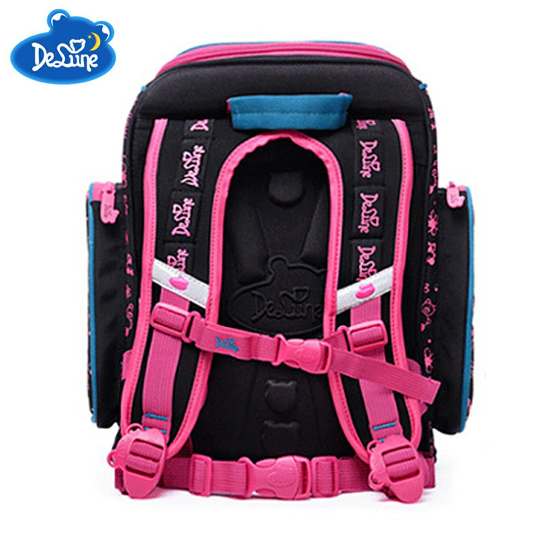 【Delune】【俄羅斯品牌護脊書包】【女童書包】藍色小熊 6-109