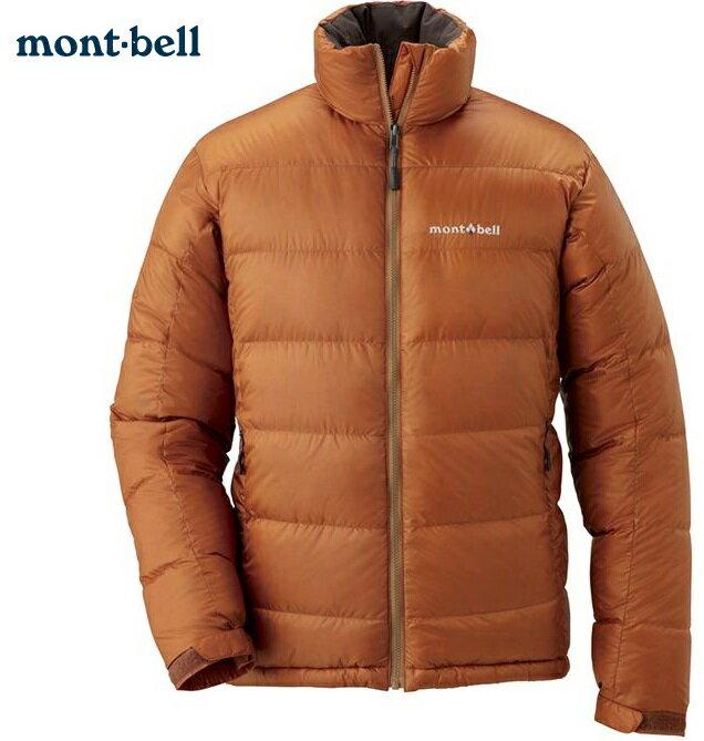 Mont-Bell 羽絨衣 Alpine 800FP 保暖鵝絨羽絨外套/羽毛衣/寒流/賞雪 男款 1101426 BARK 木橘