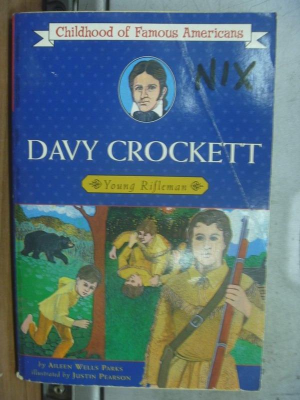 【書寶二手書T8/原文小說_OMO】Davy Crockett
