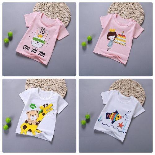 嬰兒短袖上衣嬰幼兒短袖T恤寶寶童裝HY00816好娃娃