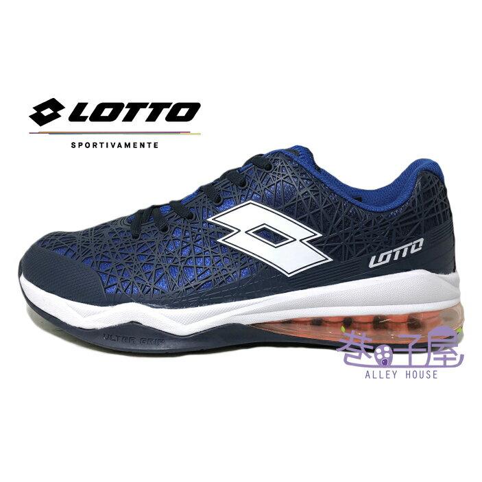 義大利第一品牌-LOTTO樂得 男款Ultra 奧創 KPU氣墊籃球鞋 [5786] 藍【巷子屋】
