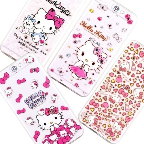 5吋 HTC ONE A9 手機套 Hello Kitty 鑽殼 施華洛世奇原廠授權 水鑽 A9U 鑲鑽 貼鑽/TPU軟殼/保護殼/保護套/手機殼/禮品/贈品/TIS購物館