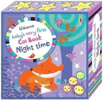 Baby's Very First Cot Book Night Time 寶寶的第一本床圍布書-夜間篇
