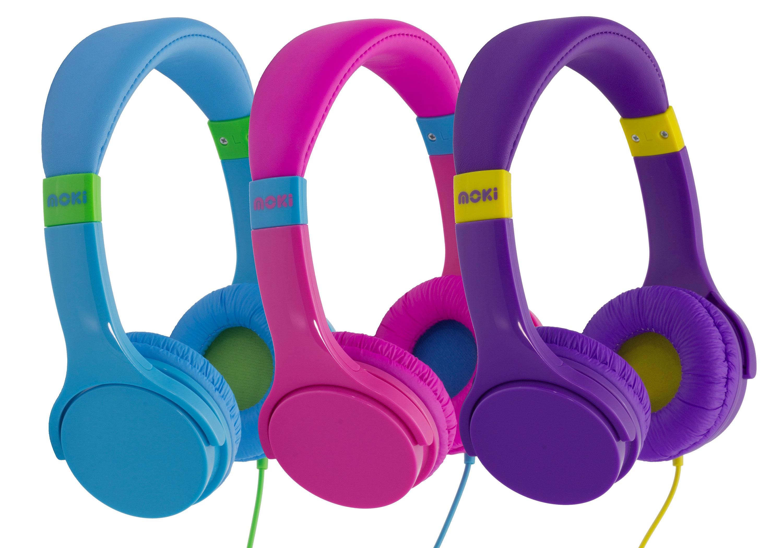 8e2034ab49a Moki: Moki Lil' Kids Volume Limited Headphones   Rakuten.com