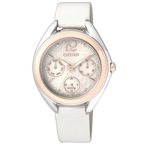 CITIZEN 星辰錶 L系列 FD2024-02A 花舞漾動時尚腕錶