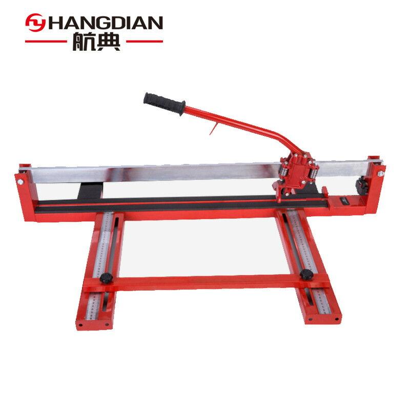 重型手動瓷磚切割機單軌槽鋼1000/800紅外線工業級地磚推刀批發 領券下定更優惠