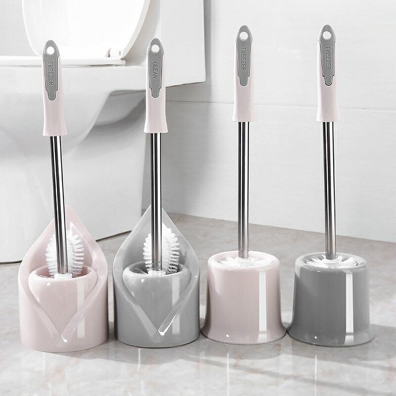 馬桶刷 北歐家用衛生間馬桶刷廁所清潔刷子無死角坐便器長柄潔廁刷子 【CM1092】