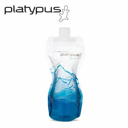 ├登山樂┤美國PlatypusSoftBottle軟式水瓶0.5L-冰山#PLATY-06874