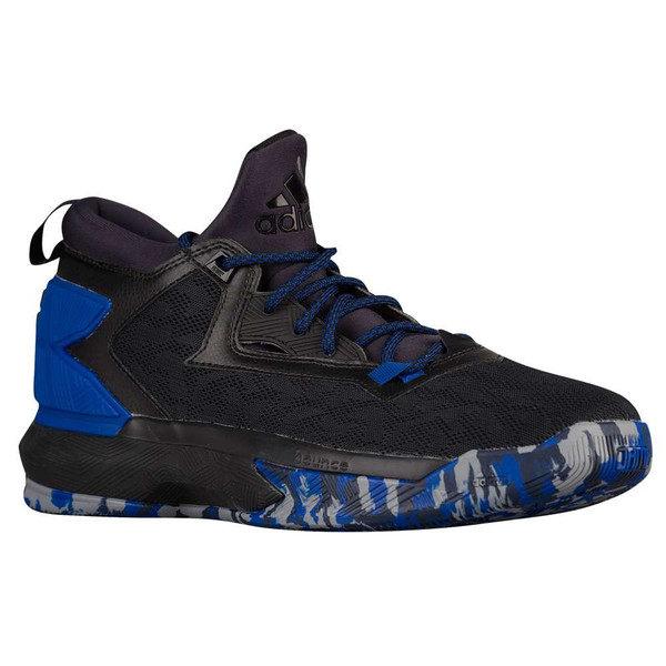ADIDAS D LILLARD 2 男鞋 籃球鞋 黑 藍 迷彩 輕量 透氣 明星款 【運動世界】 B42384