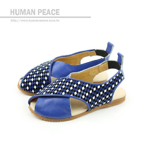 涼鞋 藍 小童 no070