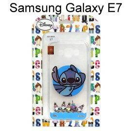 迪士尼透明軟殼 Samsung E7000 Galaxy E7 [BABY] 史迪奇【Disney正版授權】