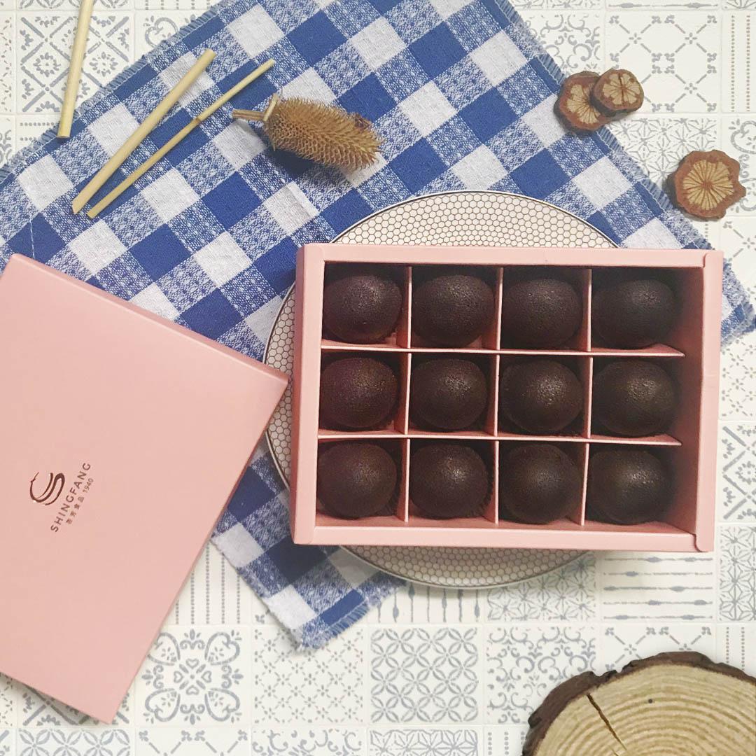【多件優惠】巧克力布朗尼禮盒1盒(12入)(免運)【杏芳食品】
