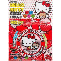 凱蒂貓飯友附貼紙^(48g^)^~5種類20袋入